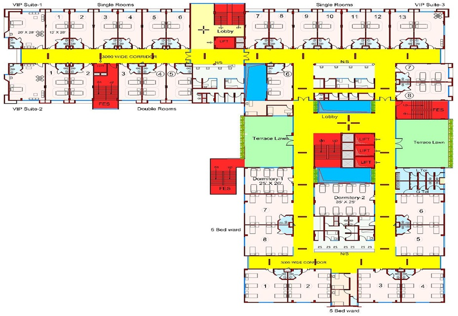 Sri Shankara Cancer Foundation Floor Plan Not For Profit Organization Whose Core Focus Is On Cure And Prevention Of Cancer